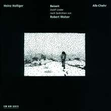 Heinz Holliger (geb. 1939): Beiseit - Liederzyklus nach R.Walser, CD