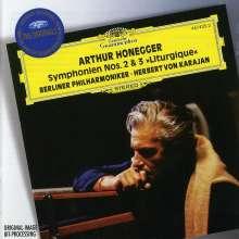 Arthur Honegger (1892-1955): Symphonien Nr.2 & 3, CD