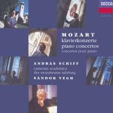 Wolfgang Amadeus Mozart (1756-1791): 21 Klavierkonzerte, 9 CDs