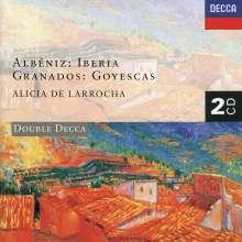 Isaac Albeniz (1860-1909): Iberia (Klavierfassung), 2 CDs