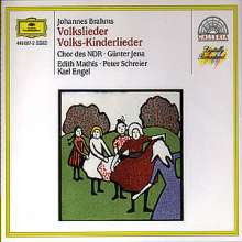 Johannes Brahms (1833-1897): 49 Deutsche Volkslieder, 2 CDs