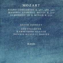 Wolfgang Amadeus Mozart (1756-1791): Klavierkonzerte Nr.21,23,27, 2 CDs