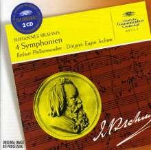 Johannes Brahms (1833-1897): Symphonien Nr.1-4, 2 CDs