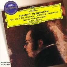 """Franz Schubert (1797-1828): Symphonien Nr.3 & 8 (""""Unvollendete""""), CD"""