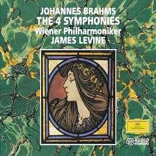 Johannes Brahms (1833-1897): Symphonien Nr.1-4, 3 CDs