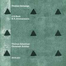 Bernd Alois Zimmermann (1918-1970): Sonate für Cello solo, CD