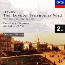 Joseph Haydn (1732-1809): Symphonien Nr.93,94,100,103,104, 2 CDs