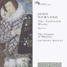 John Dowland (1562-1626): Sämtliche Werke, 12 CDs
