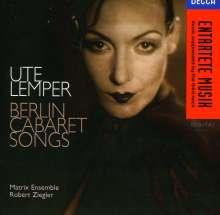 Ute Lemper - Berlin Cabaret Songs, CD