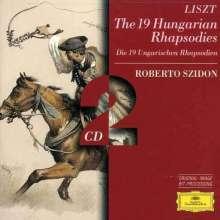Franz Liszt (1811-1886): Ungarische Rhapsodien Nr.1-19, 2 CDs