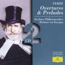 Giuseppe Verdi (1813-1901): Ouvertüren & Vorspiele, 2 CDs