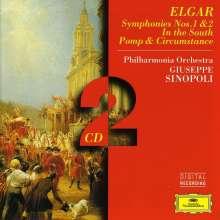 Edward Elgar (1857-1934): Symphonien Nr.1 & 2, 2 CDs