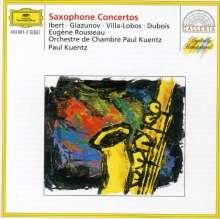 Eugene Rousseau spielt Saxophonkonzerte, CD