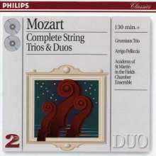 Wolfgang Amadeus Mozart (1756-1791): Werke für Streichtrio, 2 CDs