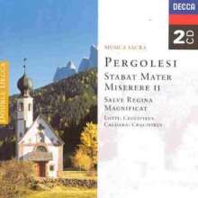 Giovanni Battista Pergolesi (1710-1736): Stabat Mater, 2 CDs
