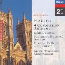 Georg Friedrich Händel (1685-1759): Coronation Anthems, 2 CDs