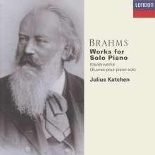 Johannes Brahms (1833-1897): Werke für Klavier solo (Ges.-Aufn.), 6 CDs