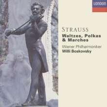 Johann Strauss II (1825-1899): Walzer,Polkas,Ouvertüren, 6 CDs