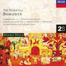 Alexander Borodin (1833-1887): Symphonien Nr.1-3, 2 CDs