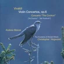 Antonio Vivaldi (1678-1741): Violinkonzerte RV 216,239,259,280,318,324,335, CD