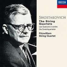 Dmitri Schostakowitsch (1906-1975): Streichquartette Nr.1-15, 6 CDs