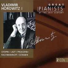 Die großen Pianisten des 20.Jh. - Vladimir Horowitz II, 2 CDs