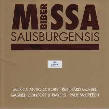 Heinrich Ignaz Biber (1644-1704): Missa Salisburgensis, CD