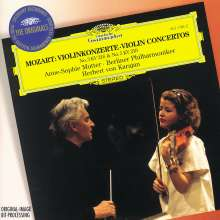 Wolfgang Amadeus Mozart (1756-1791): Violinkonzerte Nr.3 & 5, CD