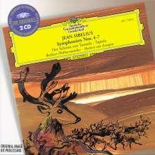 Jean Sibelius (1865-1957): Symphonien Nr.4-7, 2 CDs