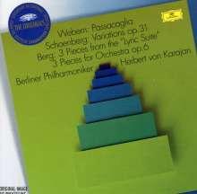 Herbert von Karajan - Musik der Neuen Wiener Schule, CD