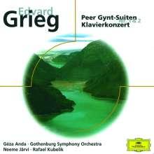 Edvard Grieg (1843-1907): Klavierkonzert op.16, CD