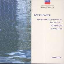 Ludwig van Beethoven (1770-1827): Klaviersonaten Nr.8,14,21, CD