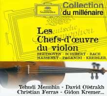 Les Chefs-d'oeurvre du violin, CD