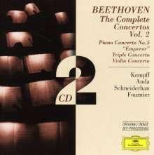 Ludwig van Beethoven (1770-1827): Klavierkonzert Nr.5, 2 CDs