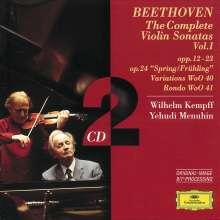 Ludwig van Beethoven (1770-1827): Violinsonaten Vol.1, 2 CDs
