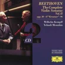 Ludwig van Beethoven (1770-1827): Violinsonaten Vol.2, 2 CDs