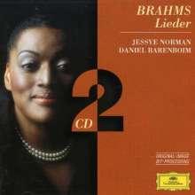 Johannes Brahms (1833-1897): Lieder, 2 CDs