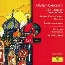 Nikolai Rimsky-Korssakoff (1844-1908): Symphonien Nr.1-3, 2 CDs