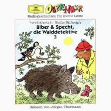 Ohrenbär:Biber & Specht,die Walddetektive 3, CD