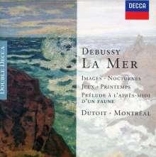 Claude Debussy (1862-1918): Images pour Orchestre Nr.1-3, 2 CDs