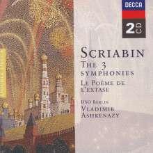 Alexander Scriabin (1872-1915): Symphonien Nr.1-3, 2 CDs