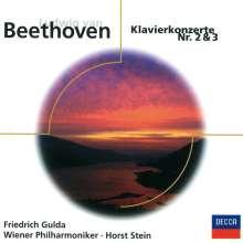 Ludwig van Beethoven (1770-1827): Klavierkonzerte Nr.2 & 3, CD
