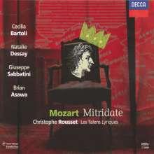 Wolfgang Amadeus Mozart (1756-1791): Mitridate Re di Ponto, 3 CDs
