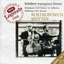 Mstislaw Rostropowitsch & Benjamin Britten, CD