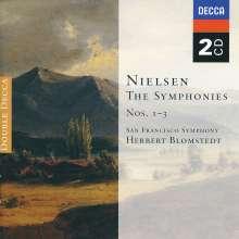 Carl Nielsen (1865-1931): Symphonien Nr.1-3, 2 CDs