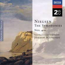 Carl Nielsen (1865-1931): Symphonien Nr.4-6, 2 CDs