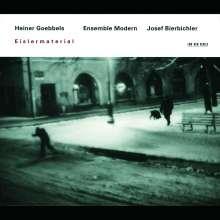 Heiner Goebbels (geb. 1952): Eislermaterial, CD