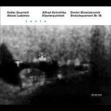 Alfred Schnittke (1934-1998): Klavierquintett, CD