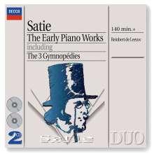 Erik Satie (1866-1925): Frühe Klavierwerke, 2 CDs