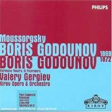 Modest Mussorgsky (1839-1881): Boris Godunow (Versionen 1869 & 1872), 5 CDs
